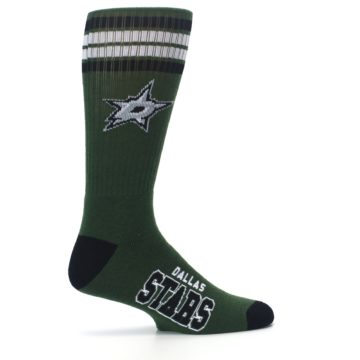 Image of Dallas Stars Men's Athletic Crew Socks (side-1-24)