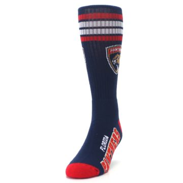 Image of Florida Panthers Men's Athletic Crew Socks (side-2-front-06)