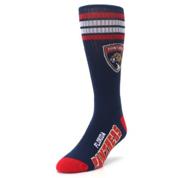 Image of Florida Panthers Men's Athletic Crew Socks (side-2-front-07)