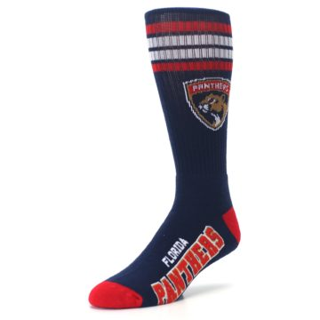 Image of Florida Panthers Men's Athletic Crew Socks (side-2-front-08)