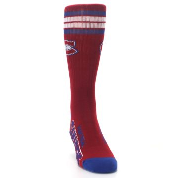 Image of Montreal Canadiens Men's Athletic Crew Socks (side-1-front-03)