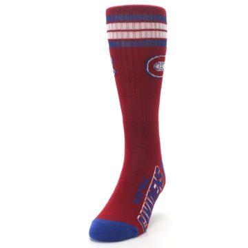 Image of Montreal Canadiens Men's Athletic Crew Socks (side-2-front-06)