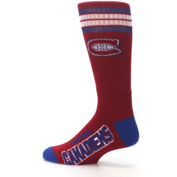 Image of Montreal Canadiens Men's Athletic Crew Socks (side-2-13)