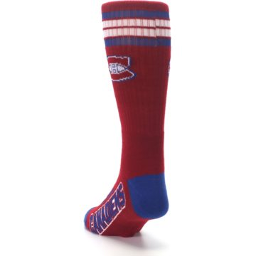 Image of Montreal Canadiens Men's Athletic Crew Socks (side-2-back-16)