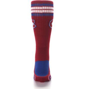 Image of Montreal Canadiens Men's Athletic Crew Socks (back-18)