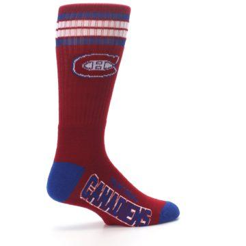 Image of Montreal Canadiens Men's Athletic Crew Socks (side-1-23)
