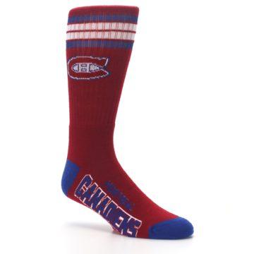 Image of Montreal Canadiens Men's Athletic Crew Socks (side-1-26)