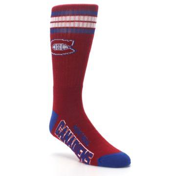Image of Montreal Canadiens Men's Athletic Crew Socks (side-1-27)