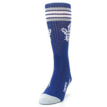 Image of Toronto Maple Leafs Men's Athletic Crew Socks (side-2-front-06)