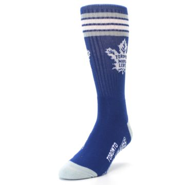 Image of Toronto Maple Leafs Men's Athletic Crew Socks (side-2-front-07)
