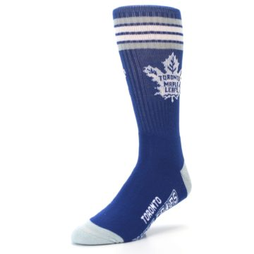 Image of Toronto Maple Leafs Men's Athletic Crew Socks (side-2-front-08)