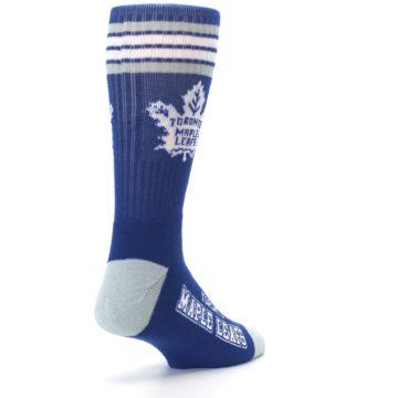 Image of Toronto Maple Leafs Men's Athletic Crew Socks (side-1-back-21)
