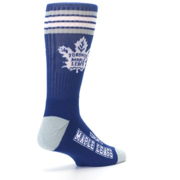Image of Toronto Maple Leafs Men's Athletic Crew Socks (side-1-back-22)