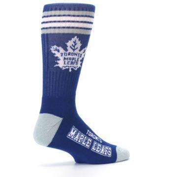 Image of Toronto Maple Leafs Men's Athletic Crew Socks (side-1-23)