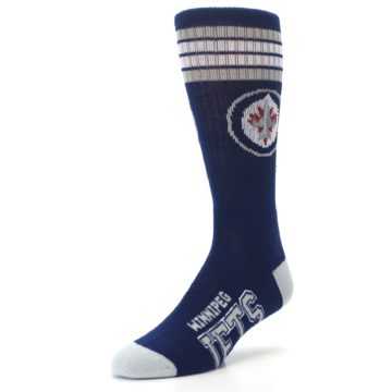 Image of Winnipeg Jets Men's Athletic Crew Socks (side-2-front-08)