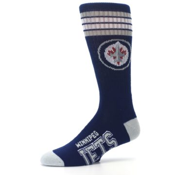 Image of Winnipeg Jets Men's Athletic Crew Socks (side-2-10)