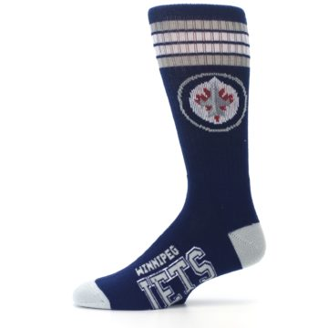 Image of Winnipeg Jets Men's Athletic Crew Socks (side-2-11)