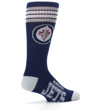 Image of Winnipeg Jets Men's Athletic Crew Socks (side-1-23)