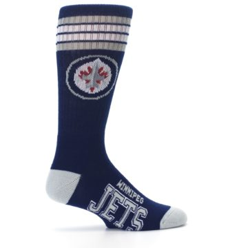 Image of Winnipeg Jets Men's Athletic Crew Socks (side-1-24)