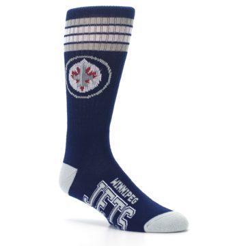 Image of Winnipeg Jets Men's Athletic Crew Socks (side-1-26)