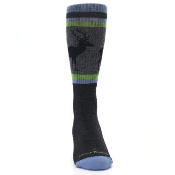 Image of Blue Green Buck Wool Men's Hiking Socks (front-04)