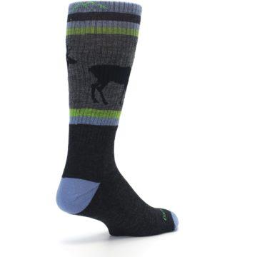 Image of Blue Green Buck Wool Men's Hiking Socks (side-1-back-22)