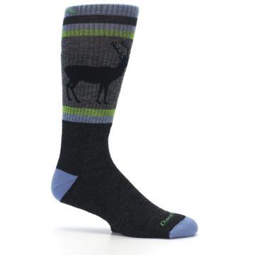 Image of Blue Green Buck Wool Men's Hiking Socks (side-1-25)