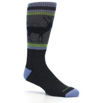 Image of Blue Green Buck Wool Men's Hiking Socks (side-1-26)
