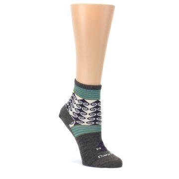 Image of Taupe Swirl Wool Women's Socks (side-1-front-01)