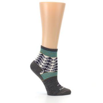 Image of Taupe Swirl Wool Women's Socks (side-1-25)