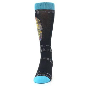 Image of Egyptian Pharaoh King Tut Men's Dress Socks (front-05)