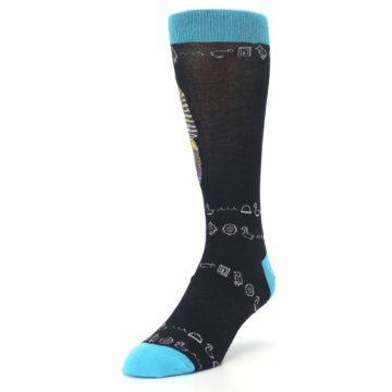 Image of Egyptian Pharaoh King Tut Men's Dress Socks (side-2-front-07)