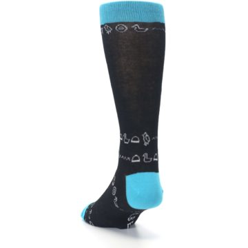Image of Egyptian Pharaoh King Tut Men's Dress Socks (side-2-back-16)