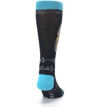 Image of Egyptian Pharaoh King Tut Men's Dress Socks (back-19)