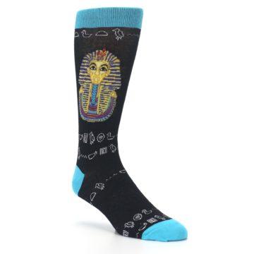 Image of Egyptian Pharaoh King Tut Men's Dress Socks (side-1-27)