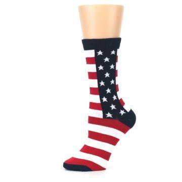 Image of Stars and Stripes US Made Women's Dress Socks (side-2-11)
