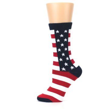 Image of Stars and Stripes US Made Women's Dress Socks (side-2-12)
