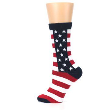 Image of Stars and Stripes US Made Women's Dress Socks (side-2-13)