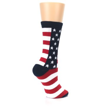 Image of Stars and Stripes US Made Women's Dress Socks (side-1-23)