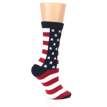 Image of Stars and Stripes US Made Women's Dress Socks (side-1-24)