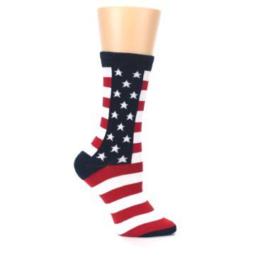 Image of Stars and Stripes US Made Women's Dress Socks (side-1-25)