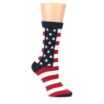 Image of Stars and Stripes US Made Women's Dress Socks (side-1-26)