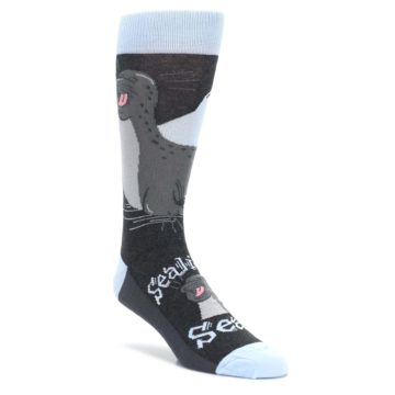 Sealiest Seal Laughing Socks for Men by Statement Sockwear