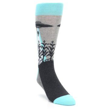 UFO Alien Abduction Socks by Statement Sockwear for Men