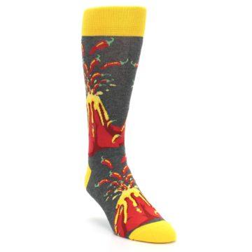 I Love Spice Volcano Foodie Socks by Statement Sockwear