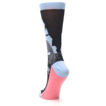 Image of Gray Sealiest Seal Women's Dress Socks (side-2-back-16)