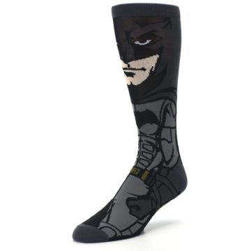 Image of Justice League Batman 360 Men's Casual Socks (side-2-front-08)