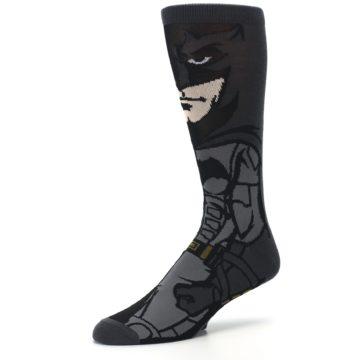 Image of Justice League Batman 360 Men's Casual Socks (side-2-09)