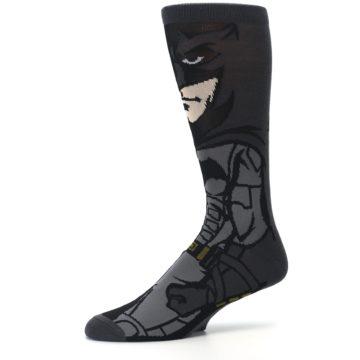 Image of Justice League Batman 360 Men's Casual Socks (side-2-10)