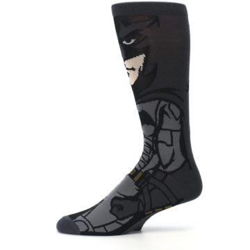 Image of Justice League Batman 360 Men's Casual Socks (side-2-11)
